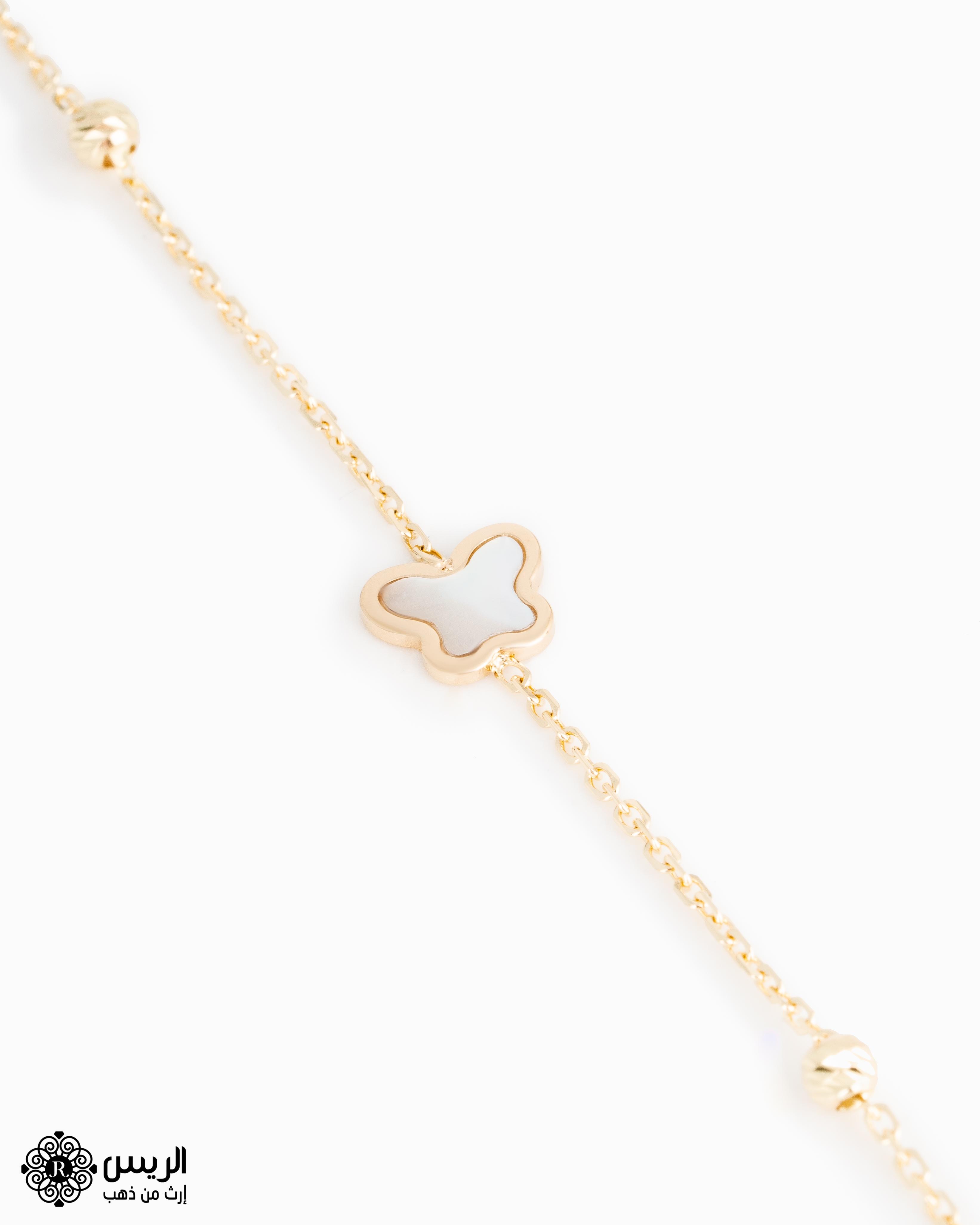 Raies jewelry Delicate Anklet خلخال ناعم الريس للمجوهرات