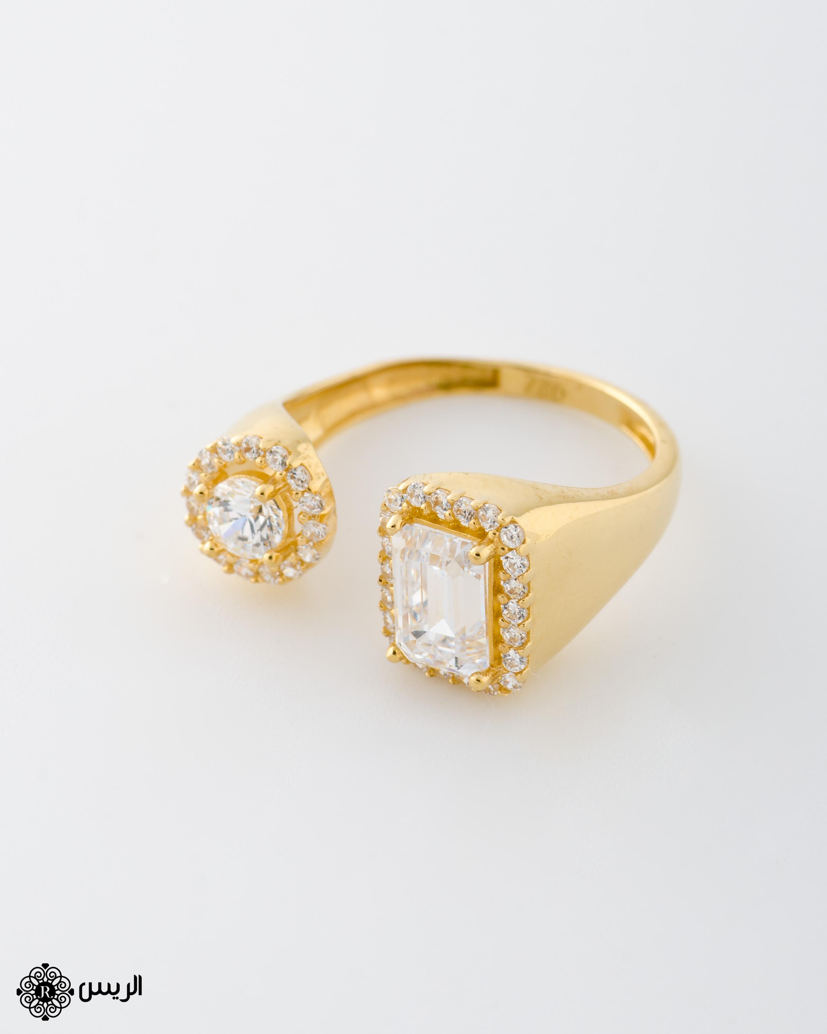 Raies jewelry Classic Design Ring خاتم تصميم كلاسيك الريس للمجوهرات