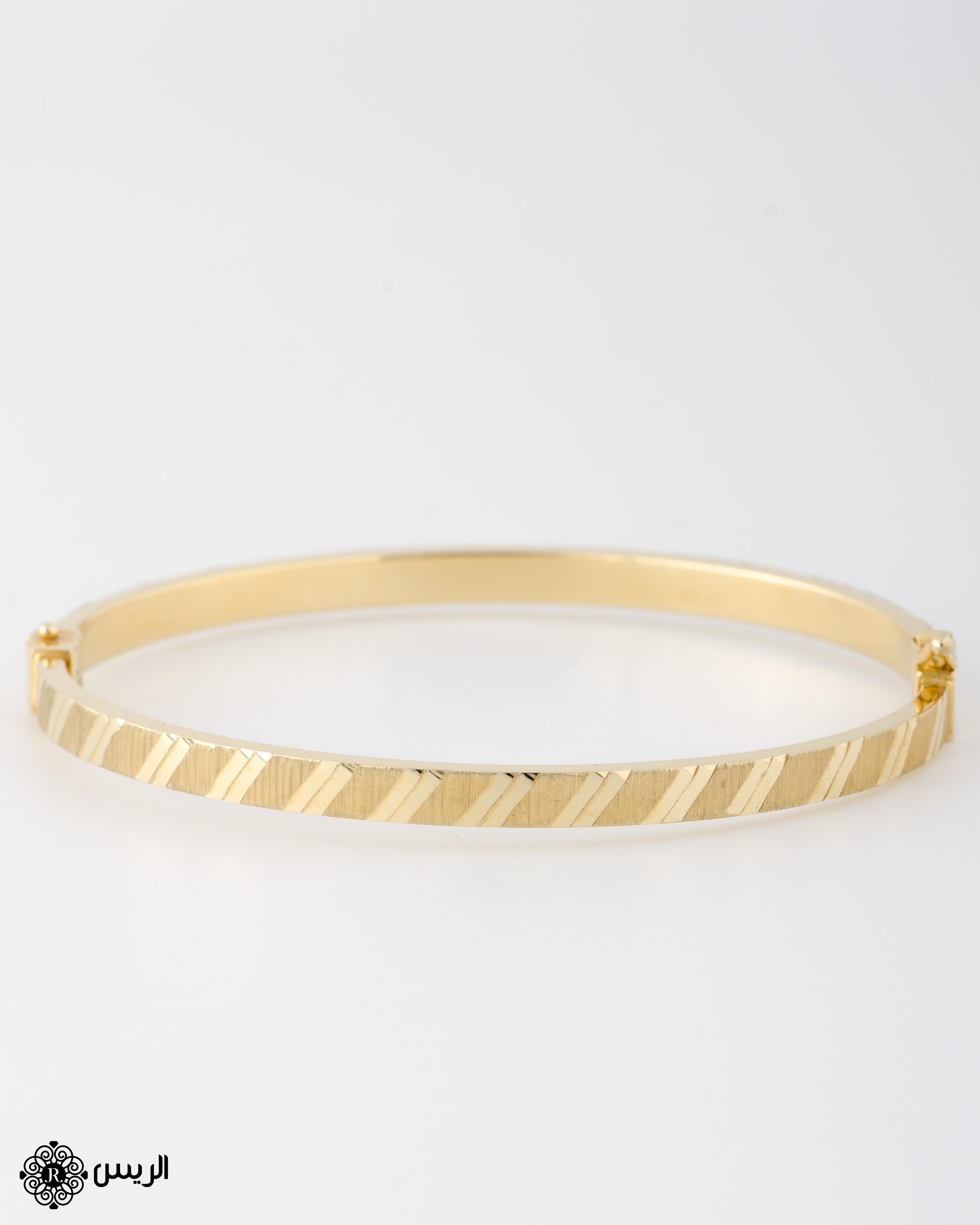 Raies jewelry Bangle Italian Design إسورة تصميم إيطالي الريس للمجوهرات