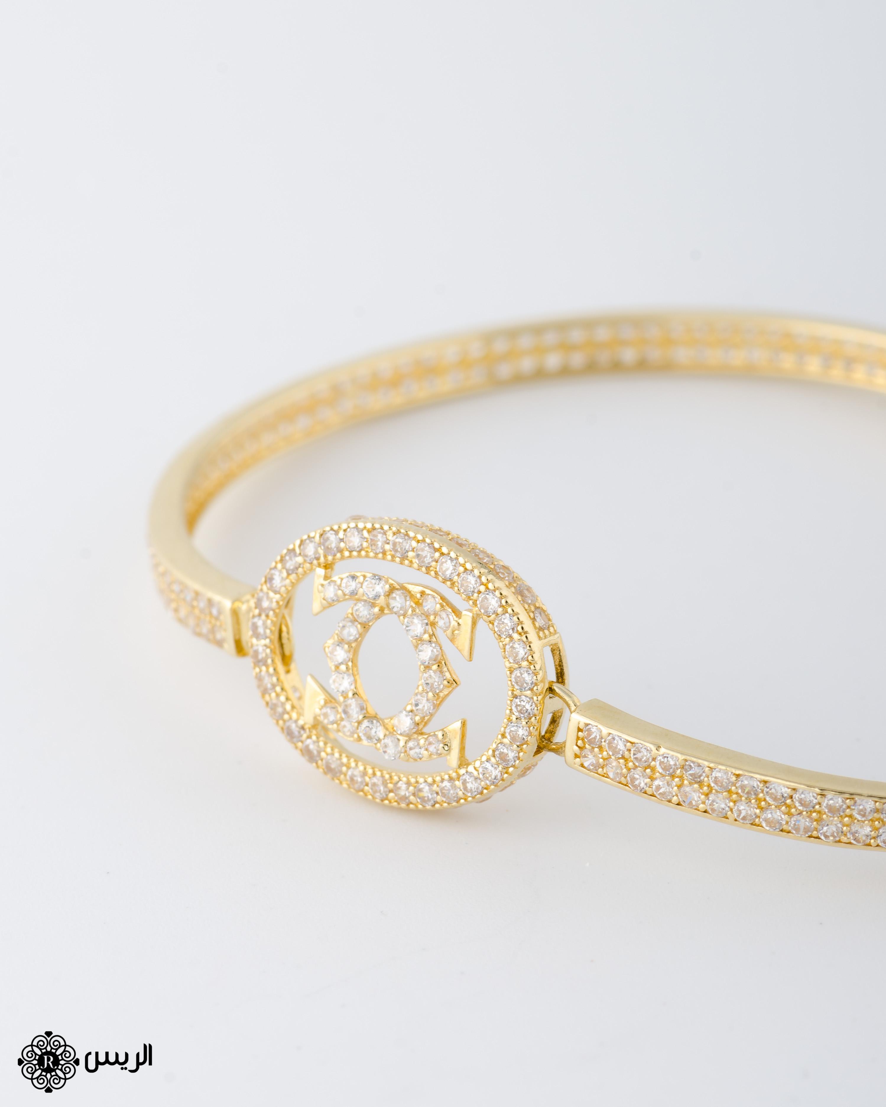 Raies jewelry Bangle Classic Design إسورة تصميم كلاسيكي الريس للمجوهرات