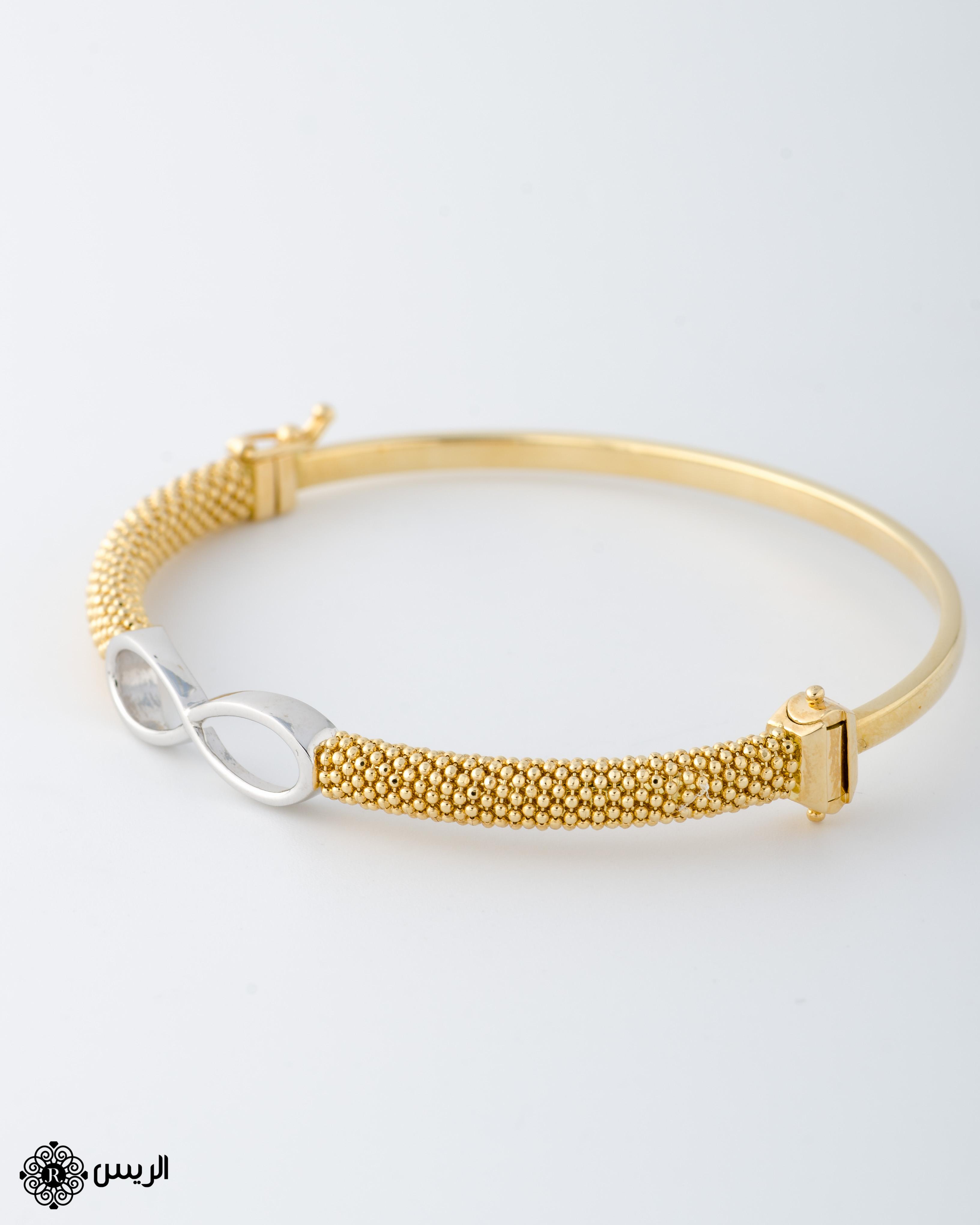 Raies jewelry Bangle Jessica Infinity إسورة جيسيكا إنفينيتي الريس للمجوهرات