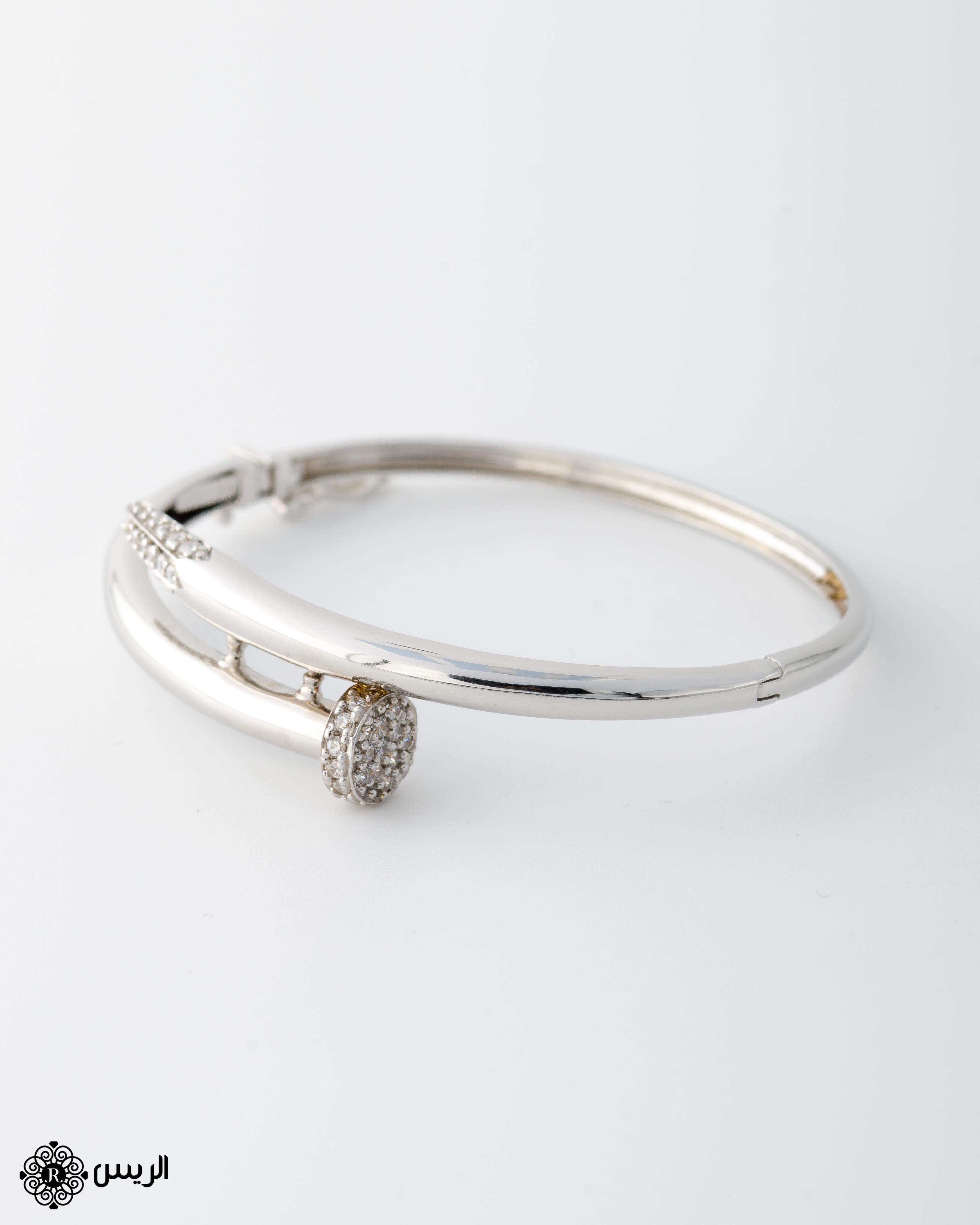 Raies jewelry Bangle Nail Casual Design إسورة مسمار تصميم سبور الريس للمجوهرات