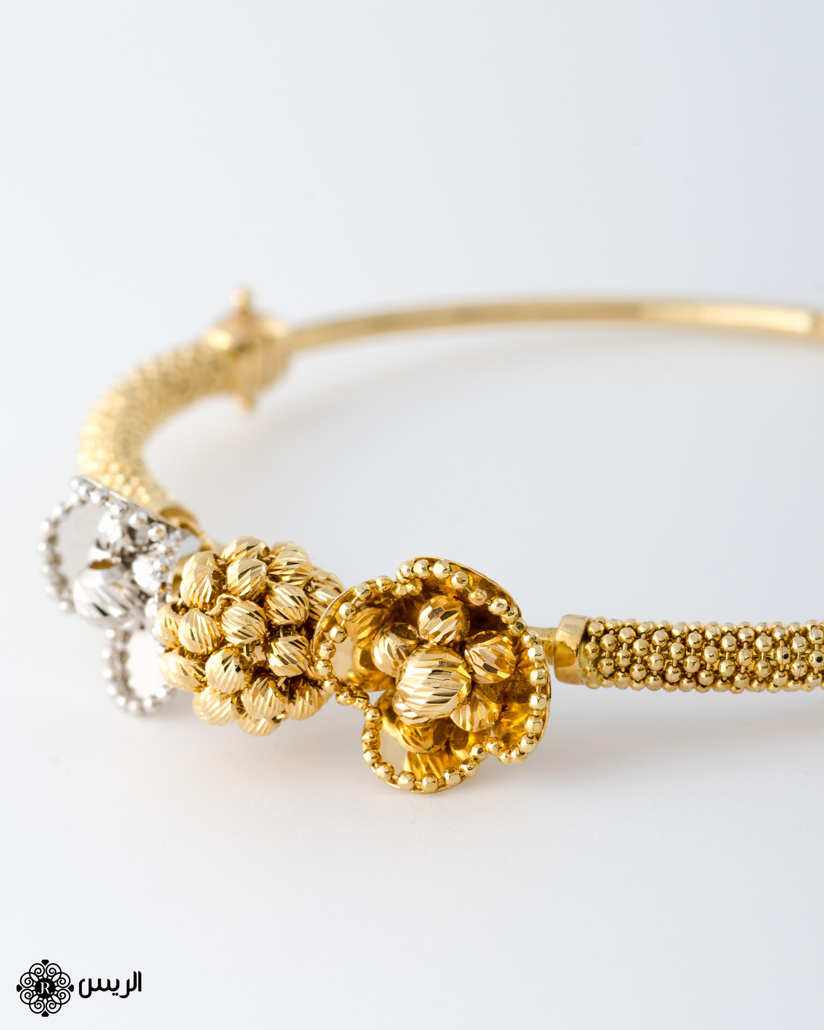 Raies jewelry Bangle Jessica Italian Design إسورة جيسيكا تصميم إيطالي الريس للمجوهرات