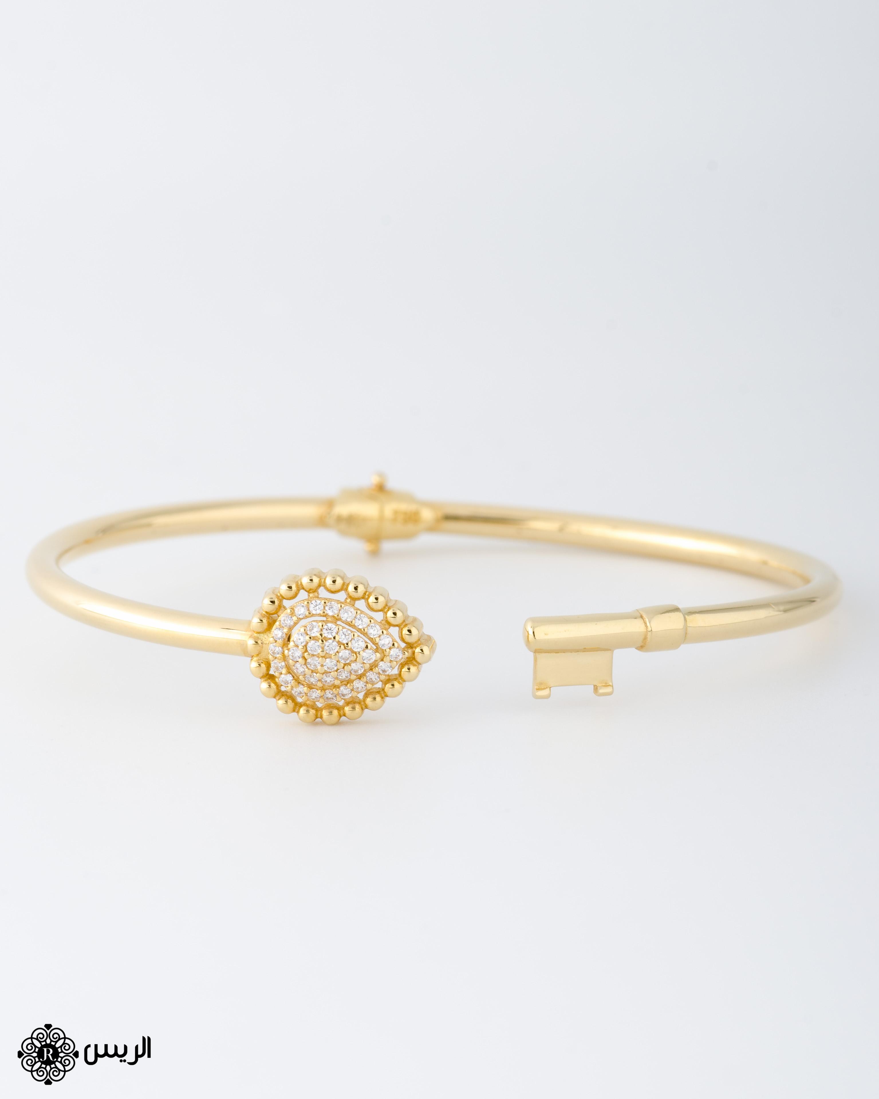 Raies jewelry Bangle Key Casual Design إسورة تصميم سبور مفتاح الريس للمجوهرات