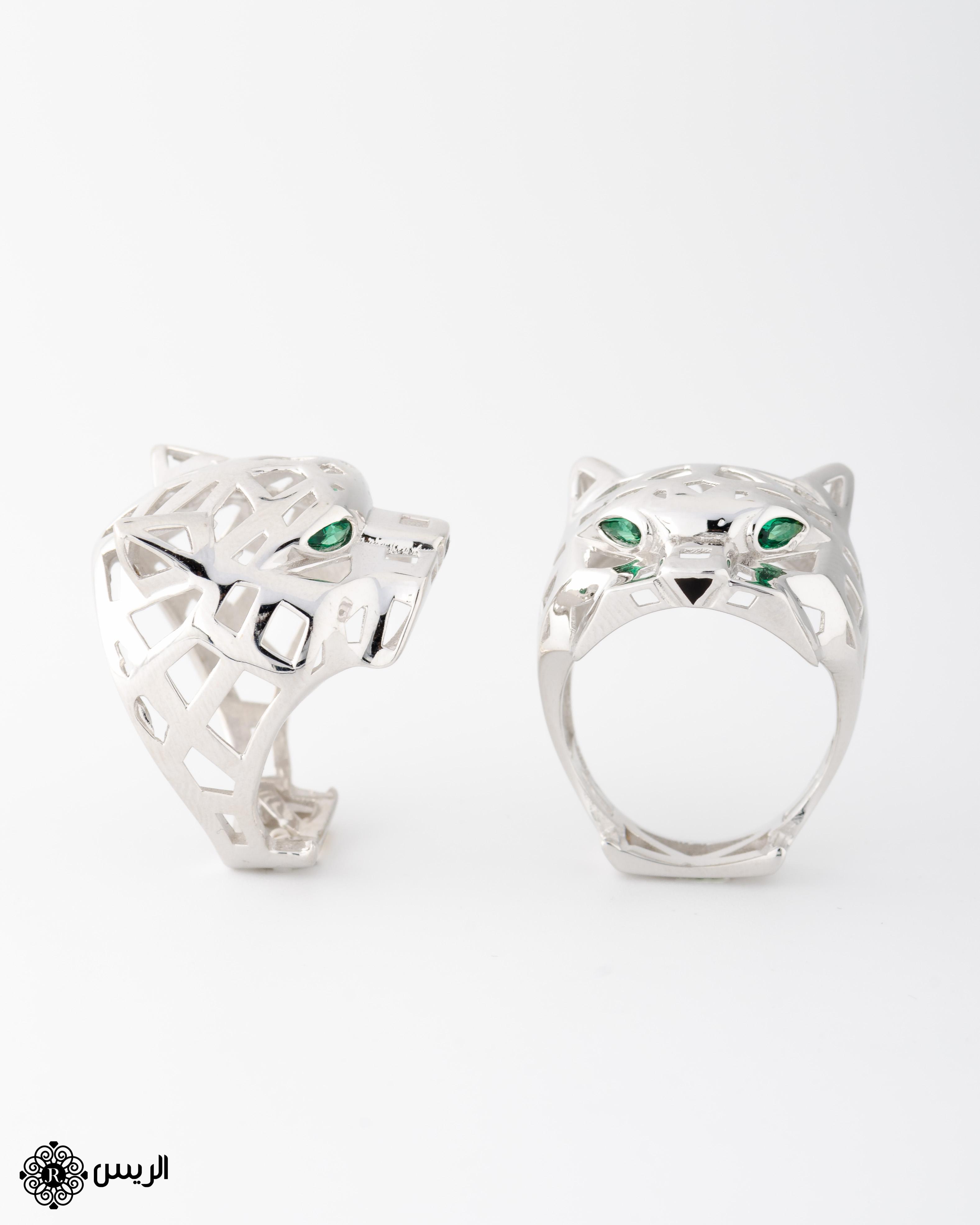 Raies jewelry Tiger Ring خاتم تايجر الريس للمجوهرات