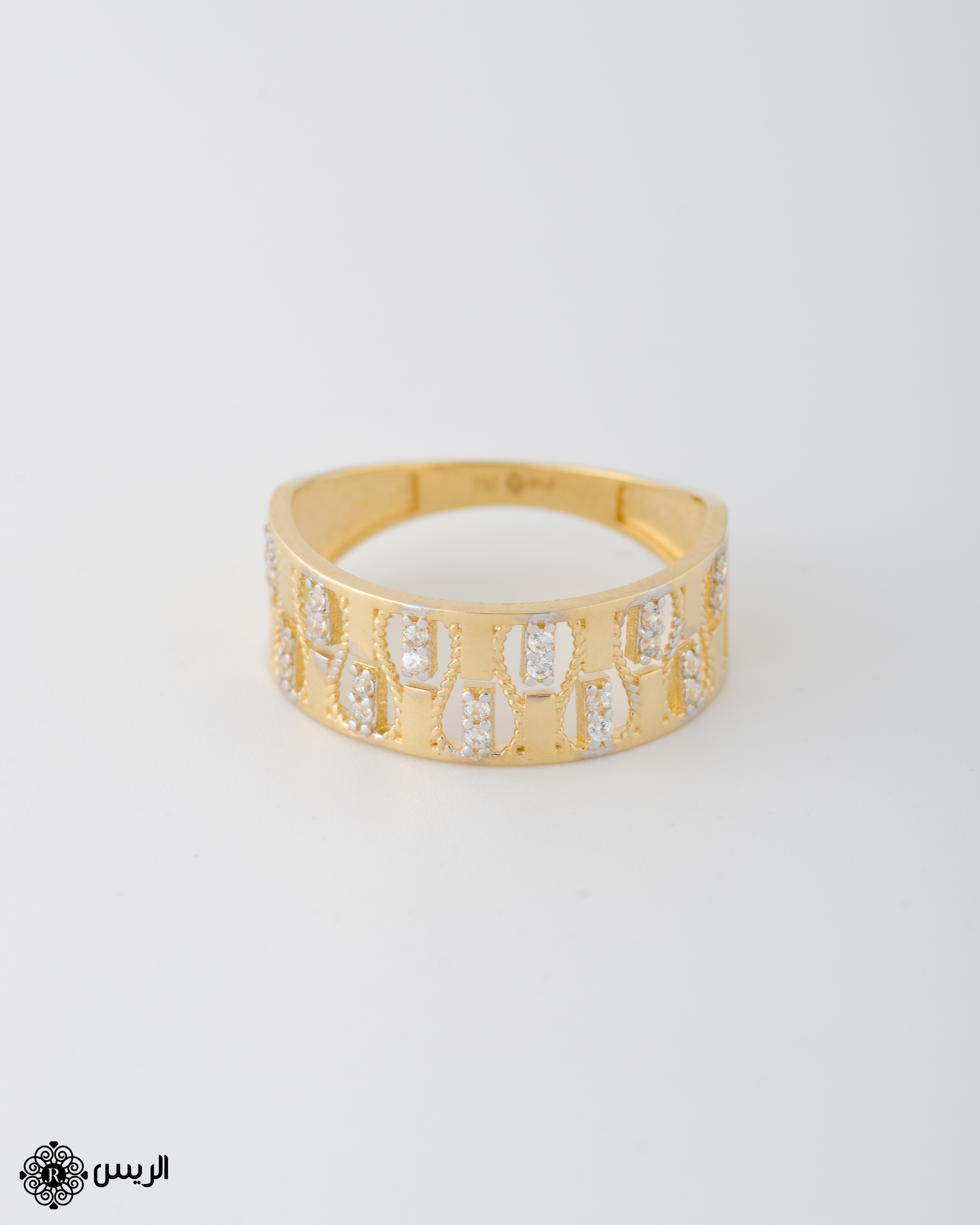 Raies jewelry Italian Design خاتم تصميم إيطالي الريس للمجوهرات
