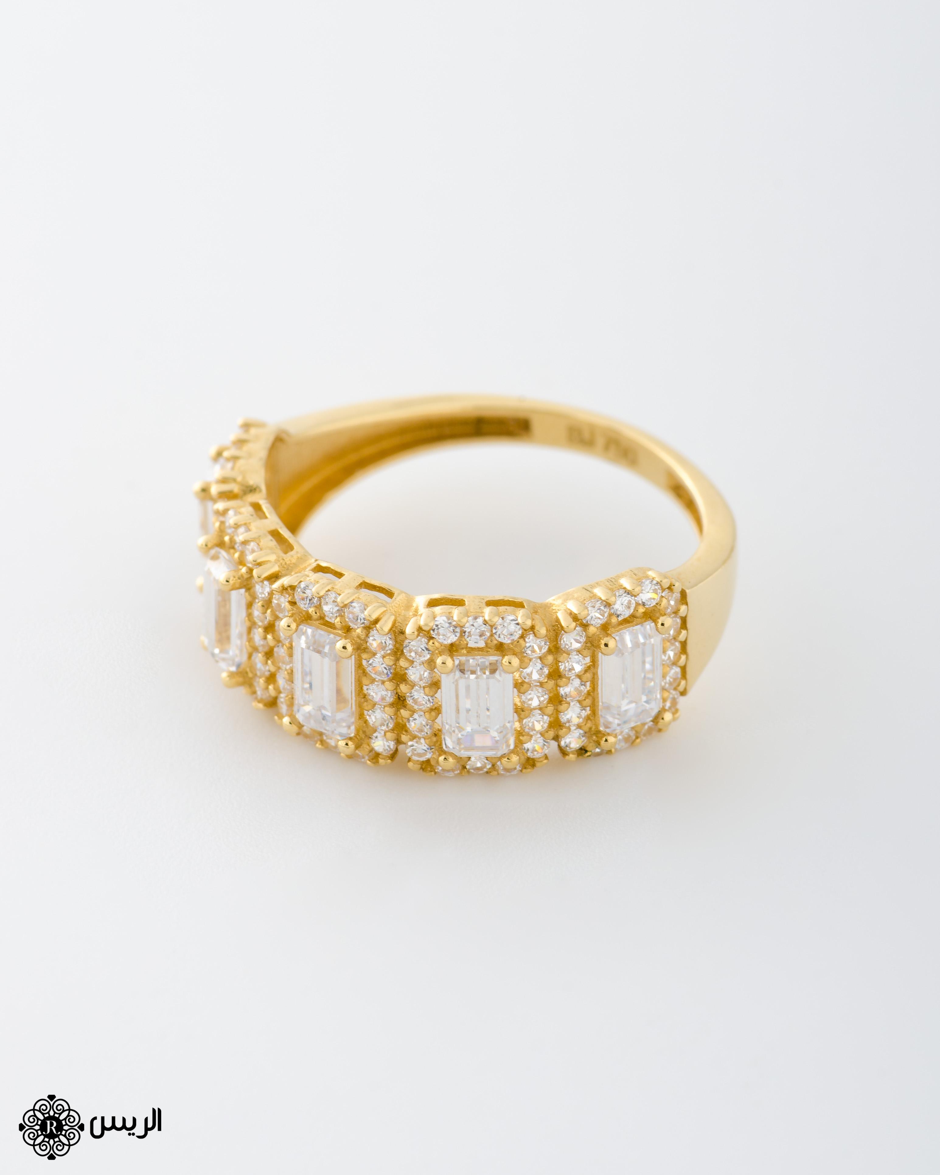 Raies jewelry Classic Ring خاتم كلاسيك الريس للمجوهرات
