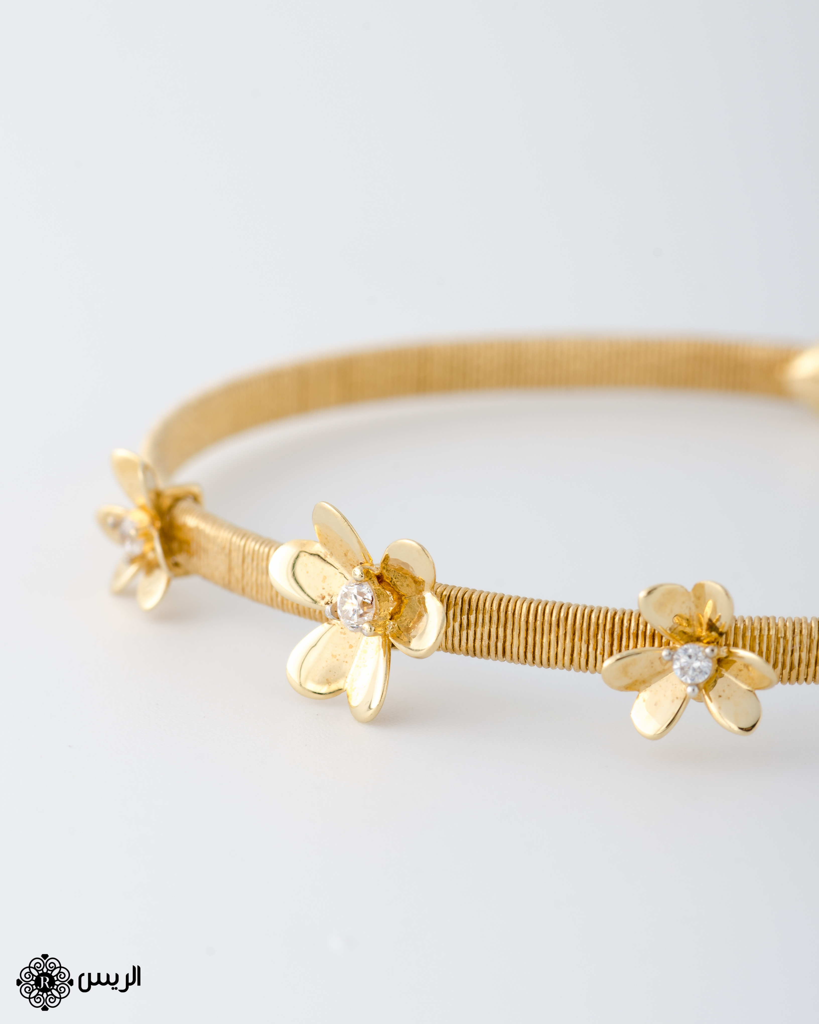 Raies jewelry Bangle Flowers Casual Design إسورة بوردات تصميم سبور الريس للمجوهرات