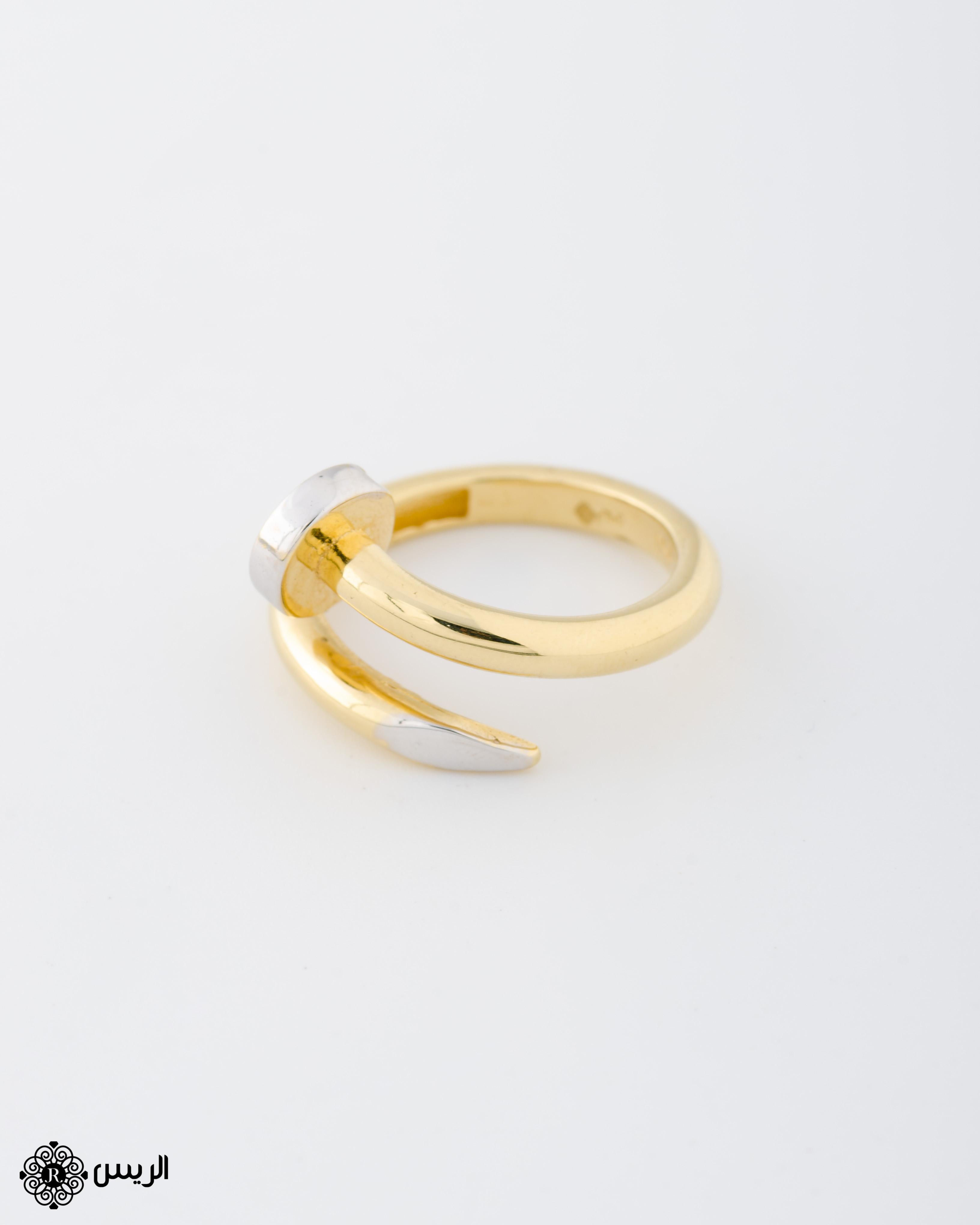 Raies jewelry Ring Nail خاتم مسمار الريس للمجوهرات