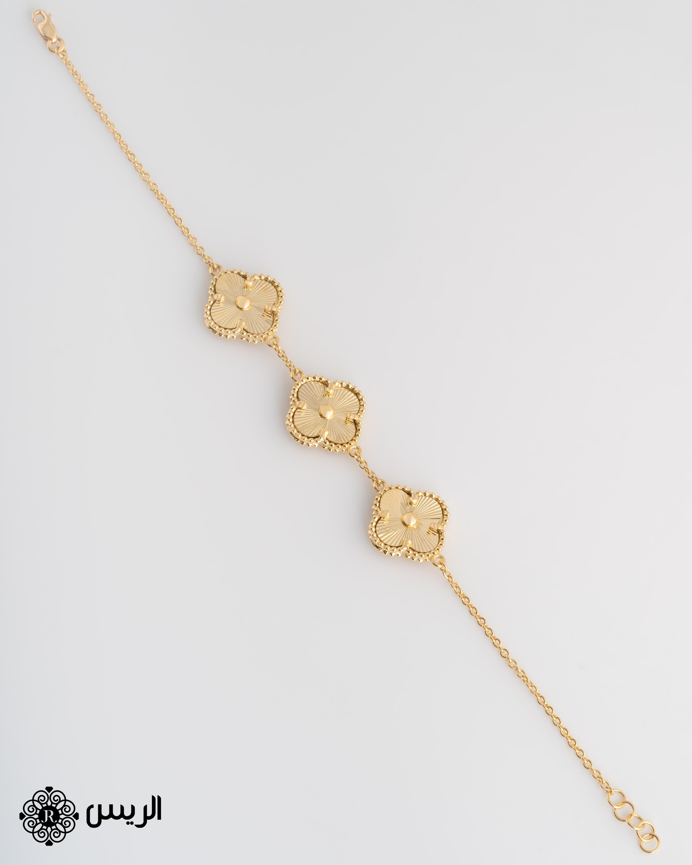 Raies jewelry Bracelet 3 Flowers إسورة (إنسيالة) 3 وردات الريس للمجوهرات
