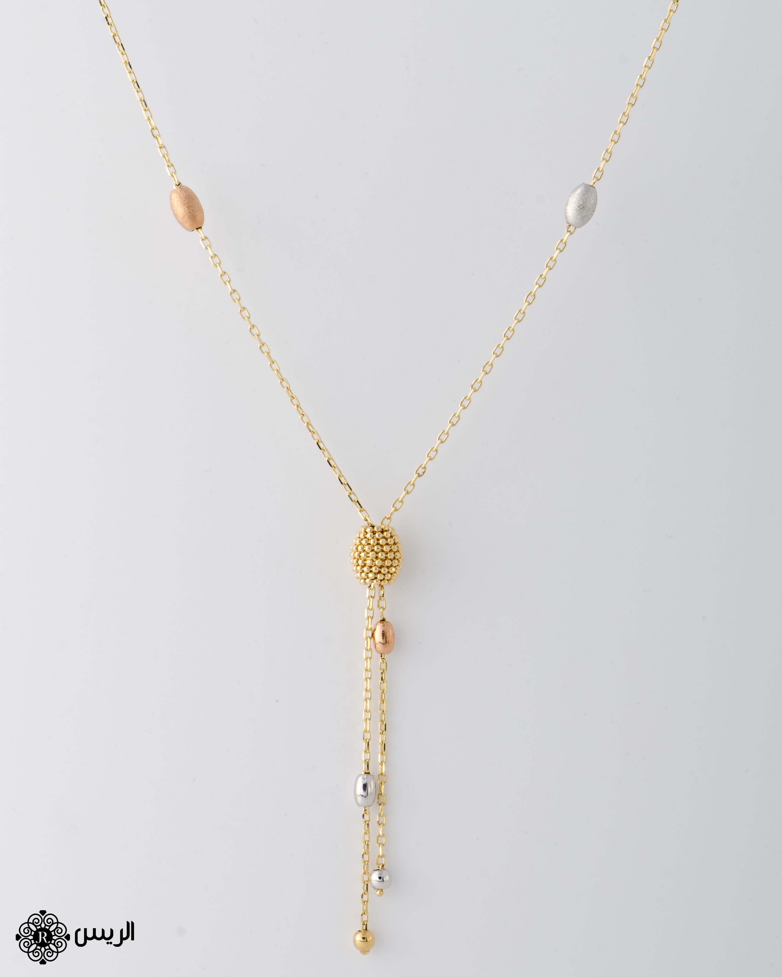Raies jewelry Necklace عقد الريس للمجوهرات