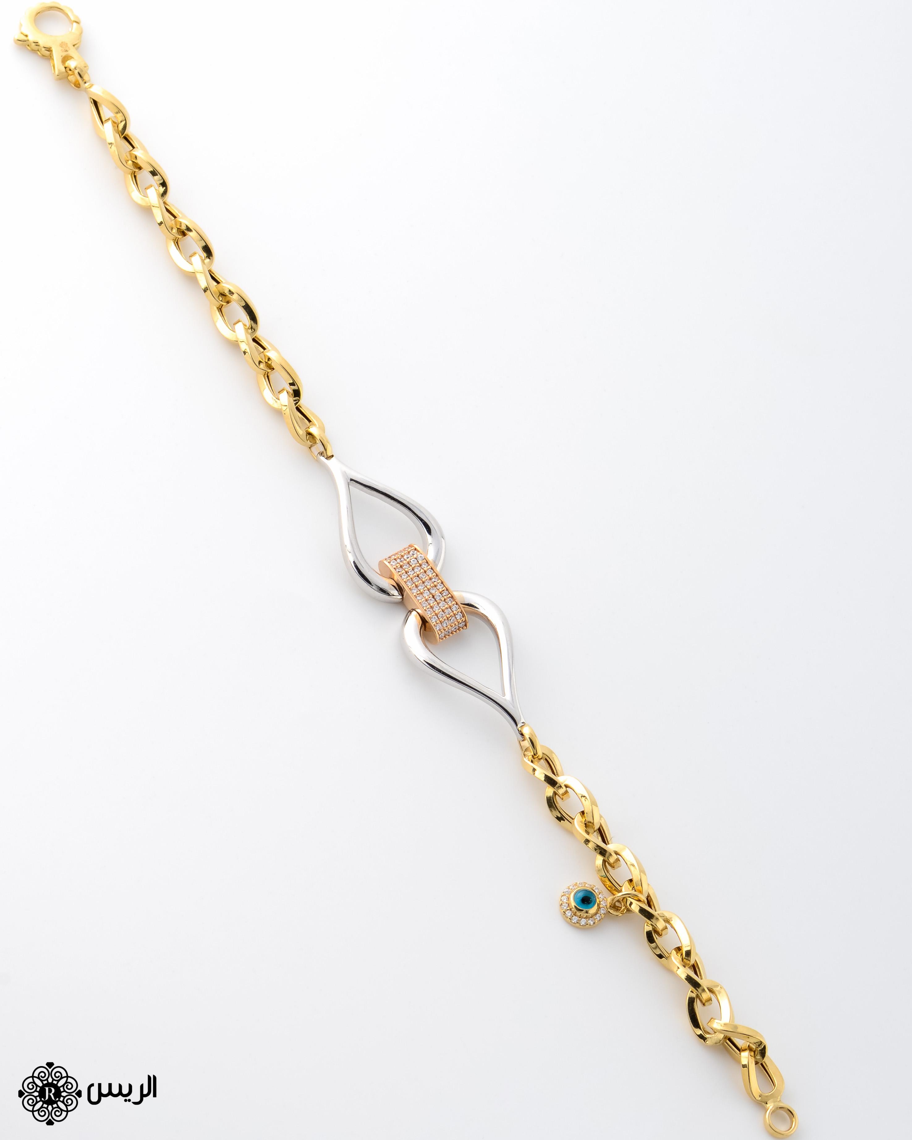 Raies jewelry Bracelet Italian Design إسورة (إنسيالة) تصميم إيطالي الريس للمجوهرات