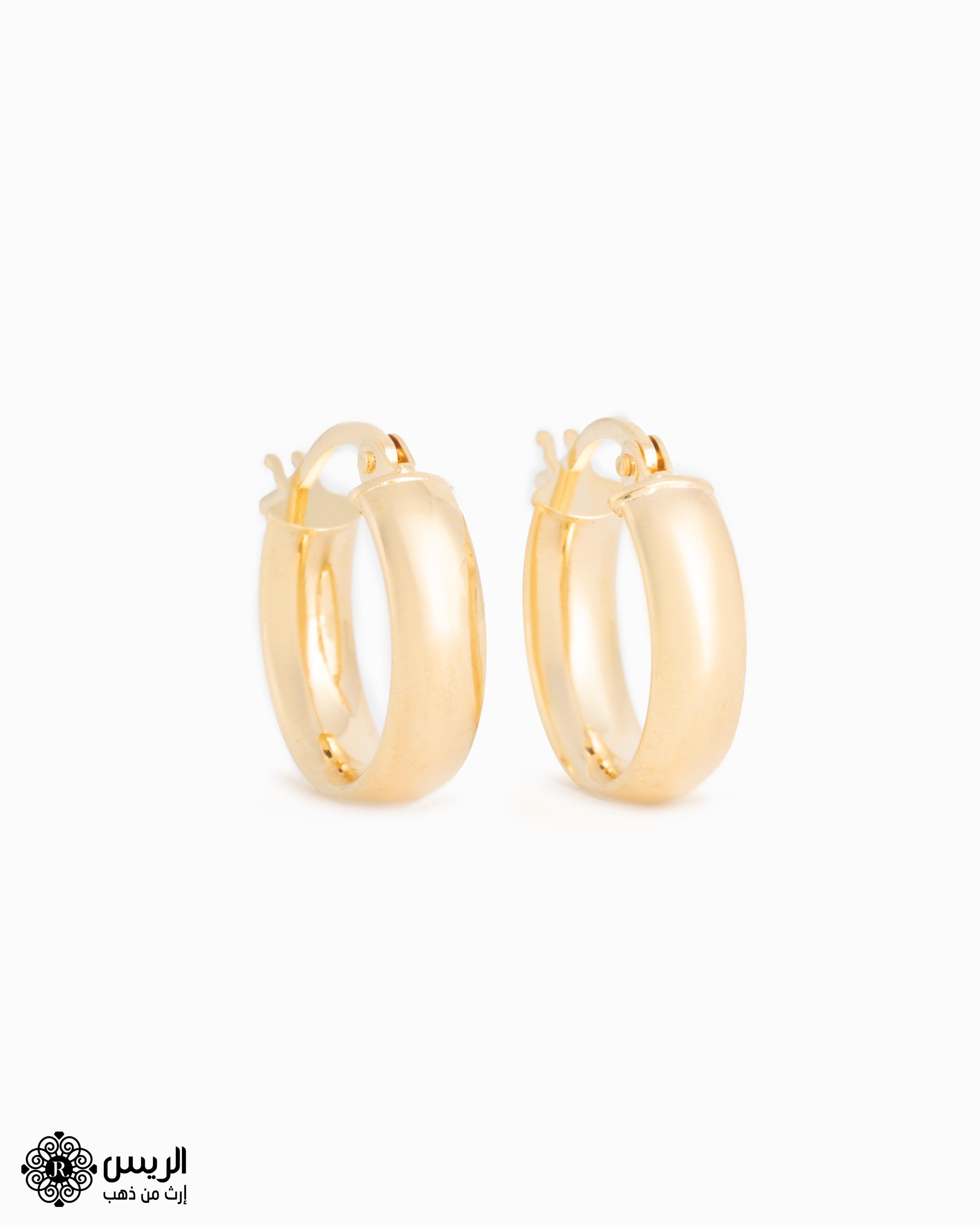 Raies jewelry Elegant Earrings حلق ناعم الريس للمجوهرات