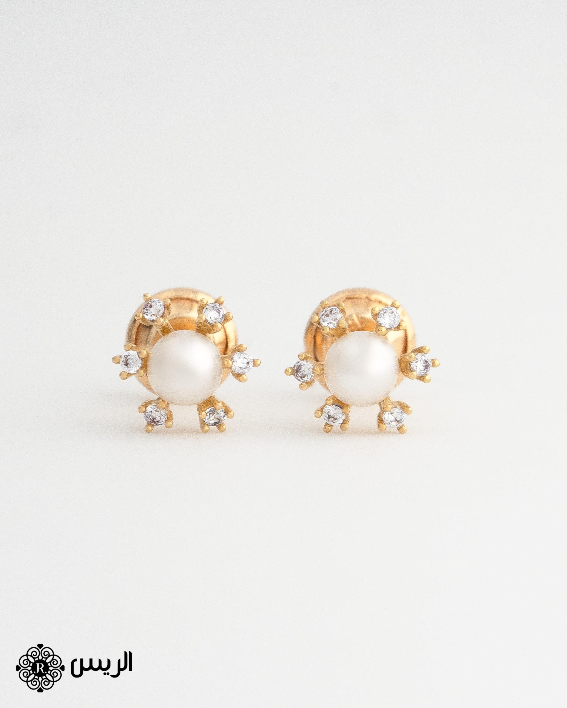 Raies jewelry Kids Earrings حلق أطفال الريس للمجوهرات