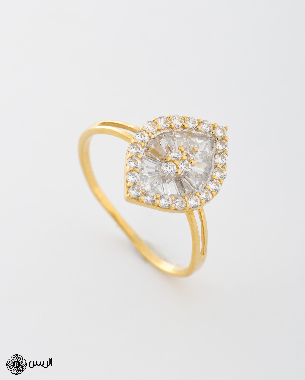 Raies jewelry Delicate Ring خاتم ناعم الريس للمجوهرات