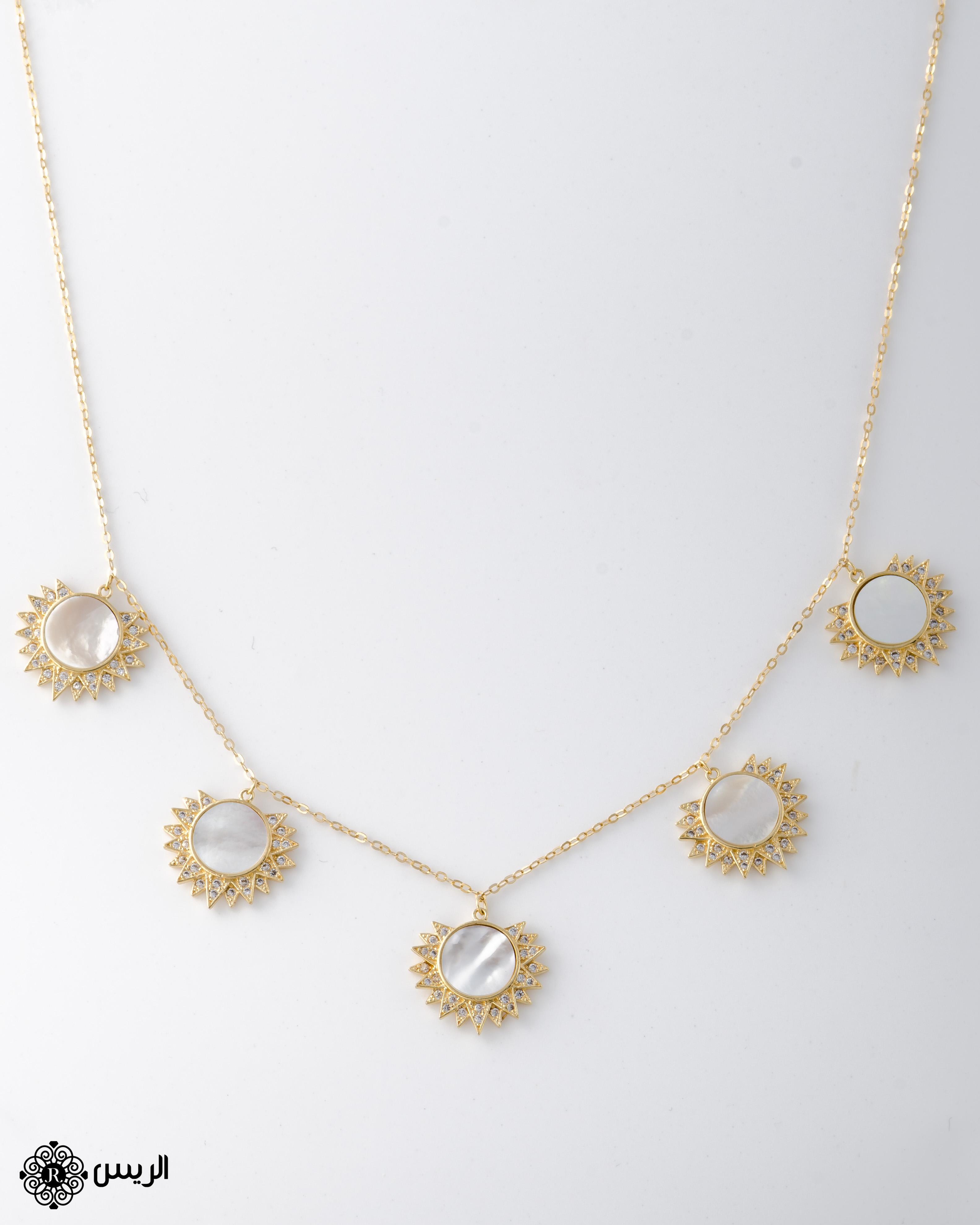 Raies jewelry Choker Necklace عقد تشوكر الريس للمجوهرات
